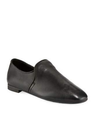 Aquatalia Revy Flat Leather Loafers