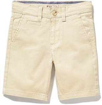Original Penguin Boys Twill Flat Front Short