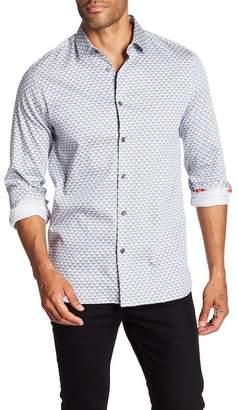 Ted Baker Diamond Geo Slim Fit Shirt