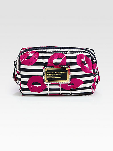 Marc by Marc Jacobs Printed Nylon Cosmetics Case