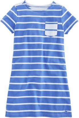 Vineyard Vines Girls Mixed Stripe Dress