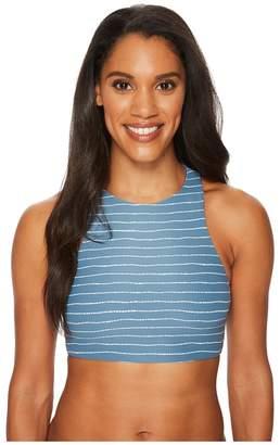 Carve Designs Sanitas Reversible Bikini Top Women's Swimwear