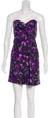 Tibi Sleeveless Cocktail Mini Dress