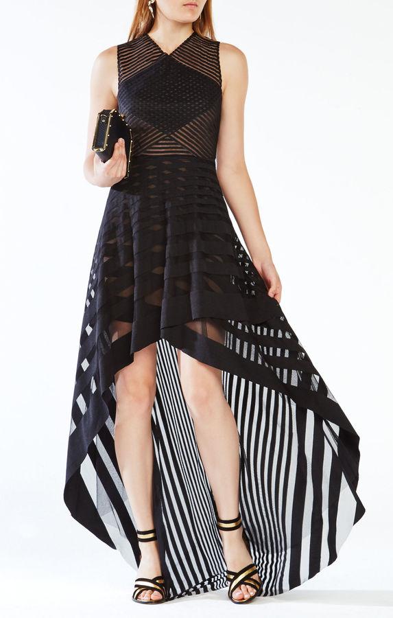 BCBGMAXAZRIAKeanna High-Low Lace Dress