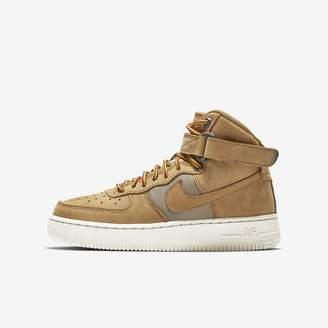 Nike Force 1 High Premium Big Kids' Shoe
