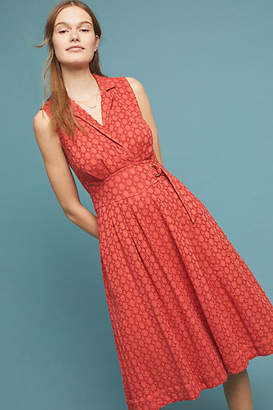 Anthropologie Elm Collared Dress