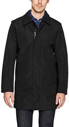Calvin Klein Men's Nylon Full Zip Trench Coat