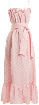 Lisa Marie Fernandez Liz linen maxi dress