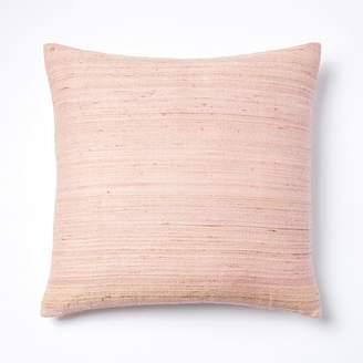 west elm Woven Silk Pillow Covers