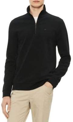 Calvin Klein The Classic Quarter-Zip Sweater
