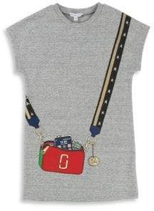 Little Marc Jacobs Little Girl's & Girl's Purse Graphic Tee