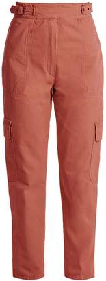 Rachel Comey Roam high-rise straight-leg cargo trousers