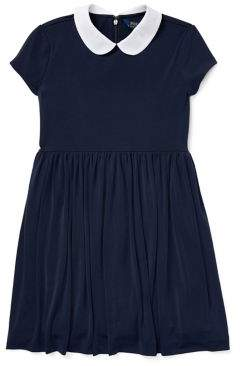 Ralph Lauren Girl's Peter Pan Collar Dress