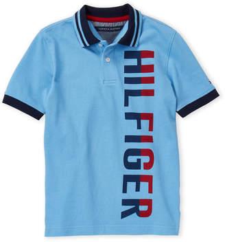 Tommy Hilfiger Boys 8-20) Two-Tone Logo Polo