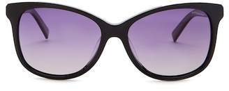 Polaroid 57mm Cat Eye Sunglasses