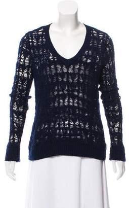 Rag & Bone V-Neck Knit Sweater