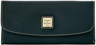 Dooney & Bourke Pebble Grain Slim Continental Clutch