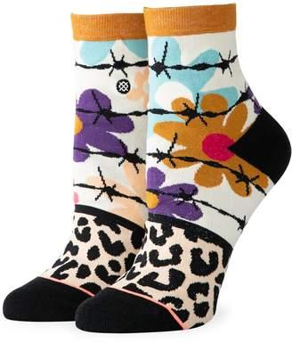 Stance Women's Flower Power Lowrider Cotton Ankle Socks