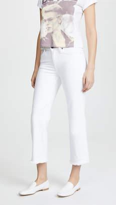 Alice + Olivia AO.LA by Perfect Cropped Kick Jeans