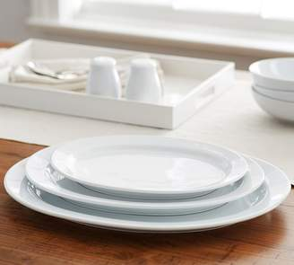 Pottery Barn Great White Oval Serving Platters