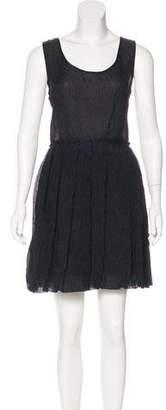 Yigal Azrouel Sleeveless Matelassé Dress w/ Tags