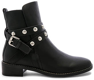See by Chloe Studded Ankle Strap Bootie