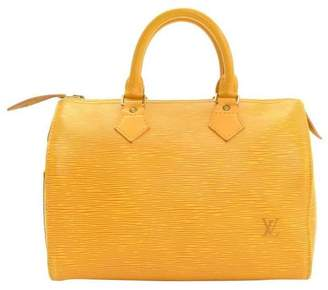Louis Vuitton Speedy Epi (Without Accessories) 25 Yellow