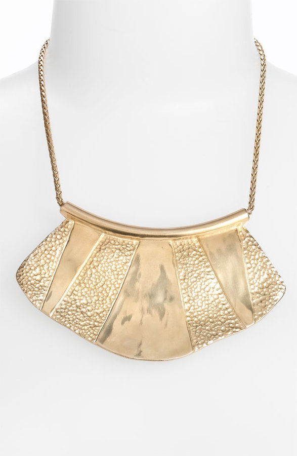 Nordstrom 'Tribal Metal' Bib Necklace