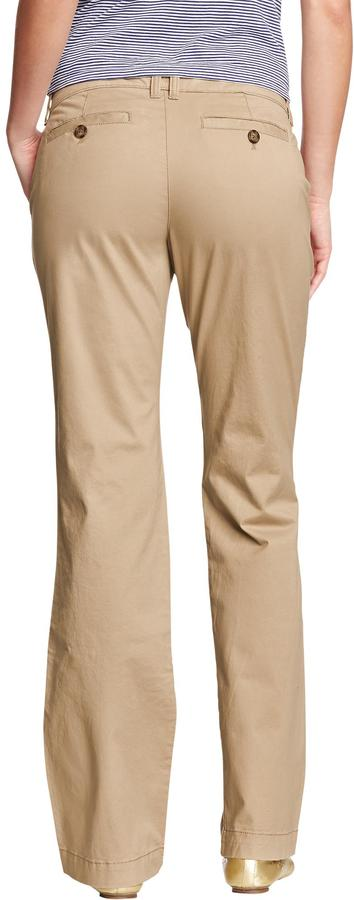 Old Navy Women's The Flirt Perfect Boot-Cut Khakis