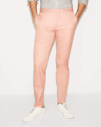 Express Extra Slim Pink Stretch Dress Pants
