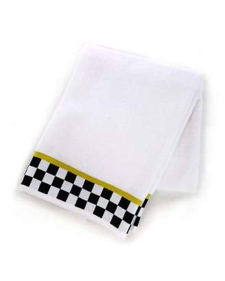 Mackenzie Childs MacKenzie-Childs Black & White Check Bath Towel