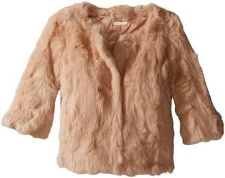 La Fiorentina Women's Cropped Fur Jacket