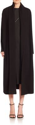 DKNY Long Open-Front Cardigan $1,198 thestylecure.com