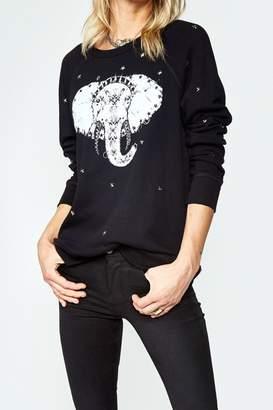 Lauren Moshi Elephant Stud Pullover