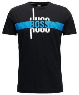BOSS Hugo Cotton Graphic T-Shirt Tee M Black