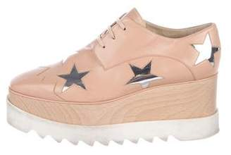 Stella McCartney 2017 Elyse Star Creeper Oxfords