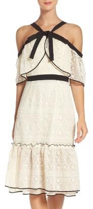 Women's Adelyn Rae Cold Shoulder Sheath Dress $128 thestylecure.com