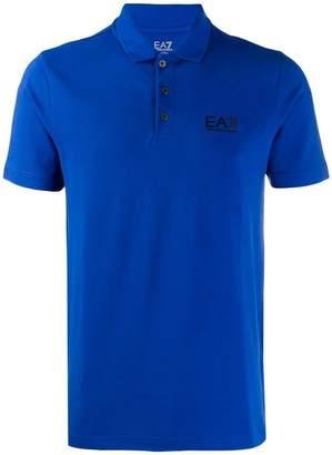 e68c84be Emporio Armani Ea7 logo printed polo shirt