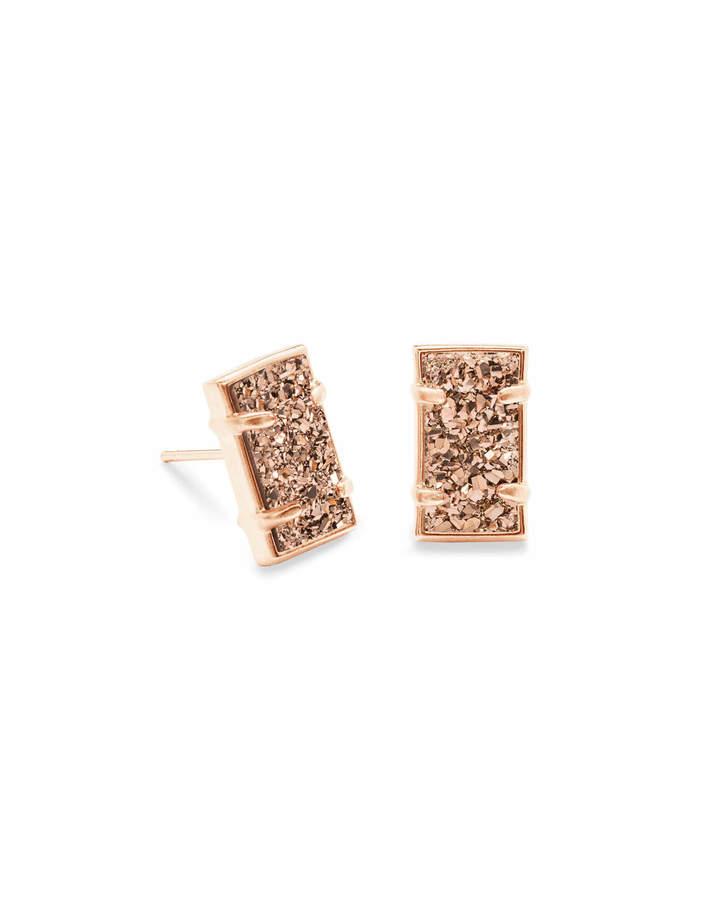 Kendra Scott Paola Stud Earrings in Rose Gold