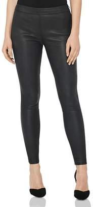Reiss Goldie Leather Leggings