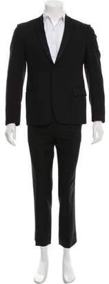 CNC Costume National Wool Tuxedo Suit