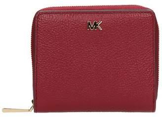 Michael Kors Burgundy Leather Wallet