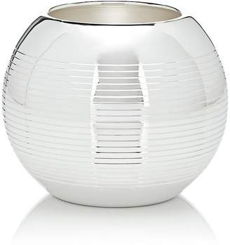 Puiforcat Pétanque Silver-Plated Small Vase
