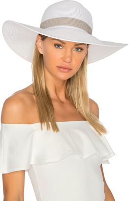 LSPACE Sunday Funday Beach Hat $64 thestylecure.com