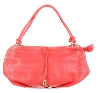 Celine Grained Leather Shoulder Bag