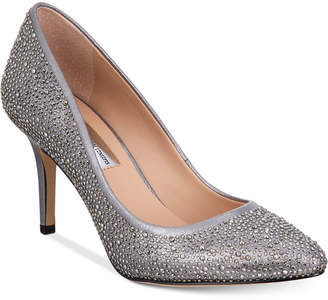 INC International Concepts I.n.c. Women's Zitah Rhinestone Pointed Toe Pumps, Created for Macy's Women's Shoes