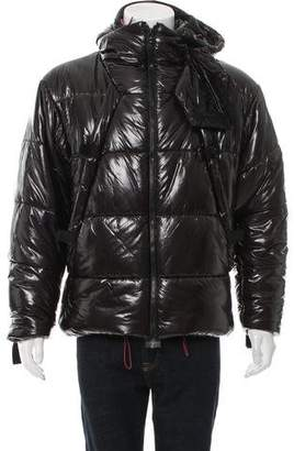 Helmut Lang Hooded Puffer Jacket