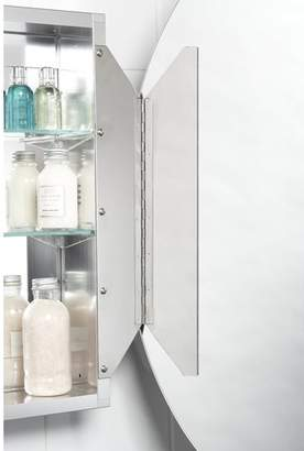 "3.1 Phillip Lim Jacuzzi 21"" x Recessed or Surface Mount Frameless Medicine Cabinet with 2 Adjustable Shelves"
