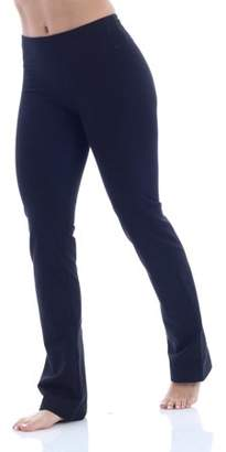 979300a72fde20 Bally Total Fitness Women's Core Active Barely Flare Yoga Pant