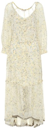 Schumacher Dorothee Fragile Flowering floral maxi dress